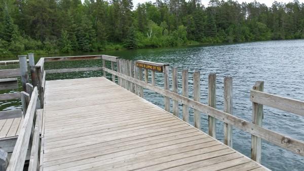 View of fishing pier