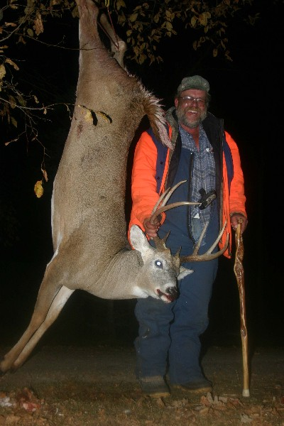 One of the larger bucks taken at Rydell by Kilmer Kristopherson