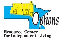 Options Resource Center for Indepentdent Living Logo